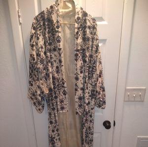 Silk Vintage Japanese Kimono